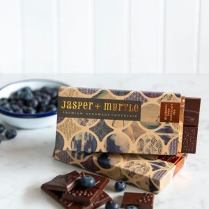 Jasper & Myrtle - Blueberry Dark Chocolate