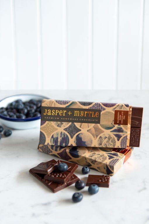 Jasper & Myrtle - Blueberry Dark Chocolate