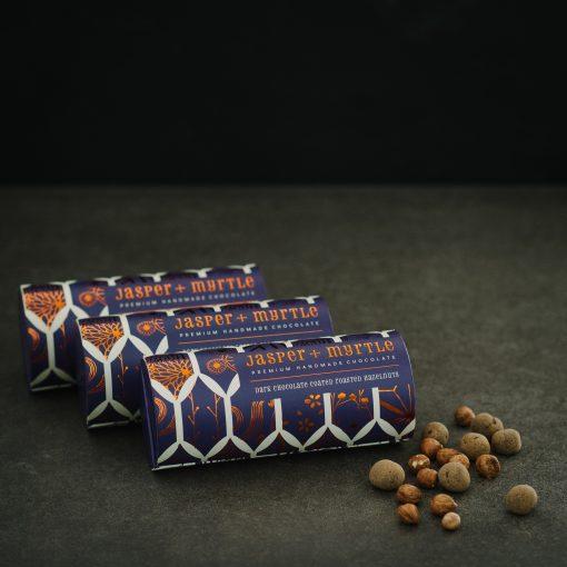 Jasper & Myrtle Dark Chocolate Coated Hazelnuts